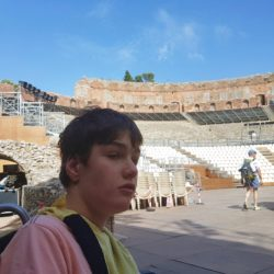 Tristan at the Colosseum 2019. All Rights Reserved. Hearth Support Services.